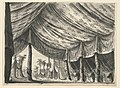 """Drawing, Stage Design, Tent of Genghis Khan, for the Ballet """"Genghis Khan"""" by Luigi Henry, 1828 (CH 18545119).jpg"""