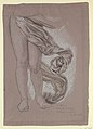 """Drawing, Study of Drapery of """"Fortune"""", ca. 1877 (CH 18404519).jpg"""
