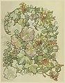 Drawing, Textile Design- Honeysuckle and Hollyhocks, 1897–98 (CH 35460973).jpg