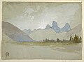 Drawing, The Tetons, Idaho, 1879 (CH 18189633).jpg
