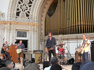 Drive Like Jehu - Drive Like Jehu performing August 31, 2014 at Spreckels Organ Pavilion, accompanied by organist Dr. Carol Williams.