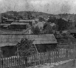Downtown Drytown, 1866