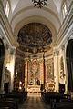 Dubrovnik, chiesa di sant'ignazio dei gesuiti, affreschi di gaetano garzia, xviii sec.JPG