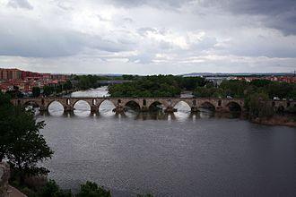 Douro - Image: Duero Zamora