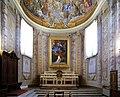 Duomo di viterbo, interno, coro dei canonici, con affreschi di giuseppe passeri 02.jpg