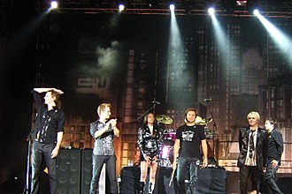 Duran Duran - The band in Bogotá, Colombia in 2008