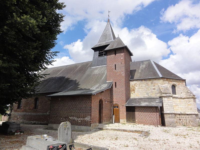 Dury (Aisne) église Saint-Médard