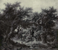 Dutch Painting in the 19th Century - Koekkoek - A Forest View.png