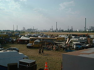 Teknival - Dutch teknival, August 2001