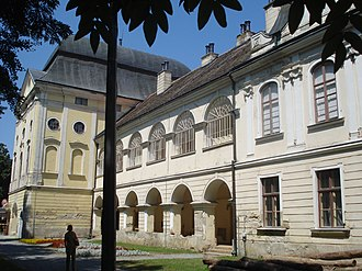 Pejačević - Pejačević Castle in Virovitica, seat of Virovitica branch of the family