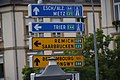 E-streets road sign Luxembourg city 2019-08.jpg