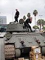 E3 2011 - World of Tanks tank outside of West Hall (5830556697).jpg