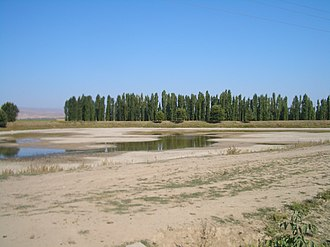 Chu River - Image: E8046 Chuy Valley Milyanfan east