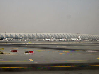 Airport - Terminal 3 of the Dubai International Airport