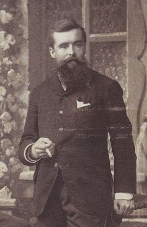 Hans Schinz - Hans Schinz, c. 1884