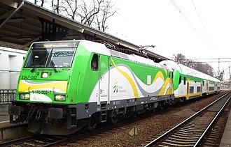 Koleje Mazowieckie - Image: EU47 002 Sloneczny, Gdansk Glowny