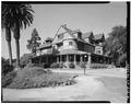 EXTERIOR, GENERAL VIEW - Daniel Freeman House, Inglewood, Los Angeles County, CA HABS CAL,19-INGWO,3-1.tif