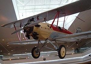 Alexander Eaglerock - Whirlwind-powered Eaglerock on display at Denver International Airport