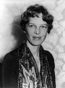 Earhart rond 1928.