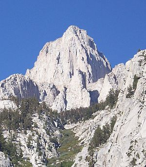 California Geological Survey - Mount Whitney, the highest peak in California, named after the second State Geologist