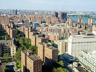 East Harlem Neighborhood of Manhattan in New York City