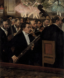 Edgar Degas - The Orchestra at the Opera - Google Art Project