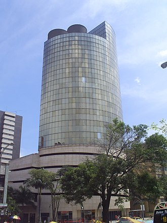 Medellín - Former headquarters of Argos Company, the first cement industrial group of Colombia.