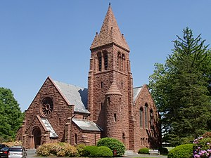 King's Highway Historic District (New Jersey) - Image: Edith Memorial Chapel, Lawrenceville School (Lawrenceville, NJ)