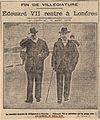 Edouard VII se promène sur la plage de Biarritz avec son médecin, sir CIPB0250.jpg