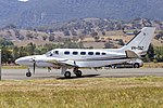 Edwards Coaches (VH-TAZ) Cessna 441 Conquest II at Tumut Airport.jpg