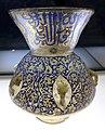 Egitto o siria, periodo mamelucco, lampada da moschea, xiv secolo 06.jpg