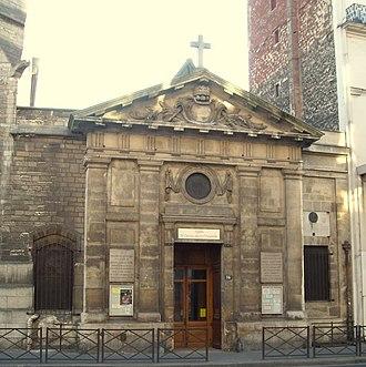 Saint-Denys de la Chapelle - Image: Eglise Saint Denys De La Chapelle