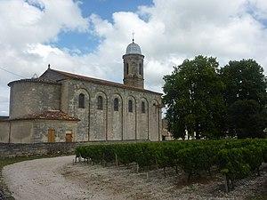 Arcins - Image: Eglise Arcins 3