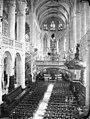 Eglise Saint-Etienne-du-Mont - Nef, vue de l'entrée - Paris - Médiathèque de l'architecture et du patrimoine - APMH00023799.jpg