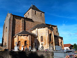 Eglise Saint-Laurent vue depuis le cimetière.JPG