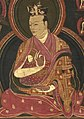 Eighth Karmapa, Mikyo Dorje, (art dates to 1570's or 1580's) from image of the Eighth Karmapa, Mikyo Dorje (1507-1554) and his teacher the First Sangye Nyenpa (cropped).jpg
