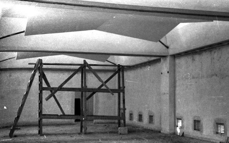 Ein Harod Museum exhibition halls construction1940s