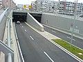 Einfahrt zum Richard-Strauss-Tunnel (München) vom Leuchtenbergring.JPG