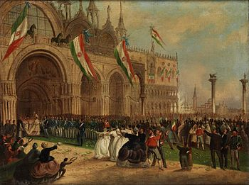 Image result for Venice becomes Italy 1866
