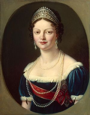 Catherine Pavlovna of Russia - Image: Ekaterina Pavlovna of Russia by anonymous (19 c., Hermitage)