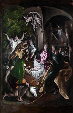 El Greco (Domenikos Theotokopoulos) - The Adoration of the Shepherds (ca. 1605–10) - Metropolitan Museum of Art