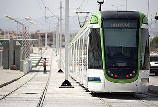Light rail Form of passenger urban rail transit