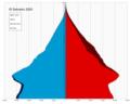 El Salvador single age population pyramid 2020.png