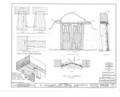 El Santuario del Senor Esquipula, Chimayo, Rio Arriba County, NM HABS NM,25-CHIM,1- (sheet 11 of 32).png