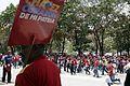 El pueblo venezolano acompañó los restos de su presidente Hugo Chávez Frías en la Academia Militar (8539061800).jpg