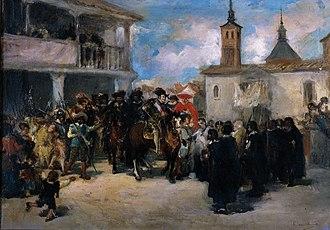 Navalcarnero - Felipe IV in Navalcarnero