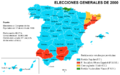 Elecciones generales españolas de 2000 - distribución del voto.png