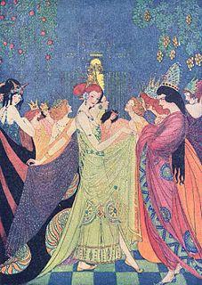 <i>The Twelve Dancing Princesses</i> German fairy tale