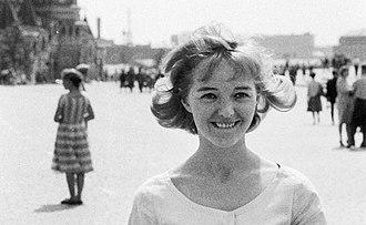 Elina Salo - Elina Salo in 1961, Moscow