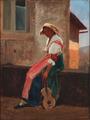 Elisabeth Jerichau Baumann - Italienerinde med en guitar.png